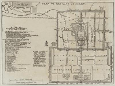 Plan of the City of Peking