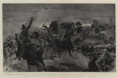 The Battle of Elands Laagte, the Final Charge of the 5th Lancers