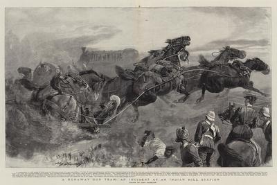 A Runaway Gun Team, an Incident at an Indian Hill Station
