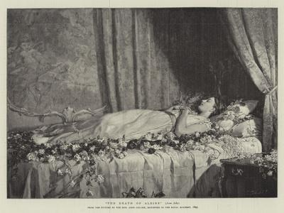 The Death of Albine