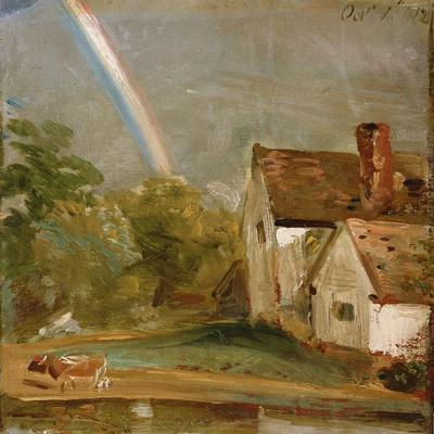 Willy Lott's House with a Rainbow, Dated October 1St, 1812
