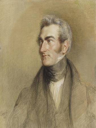Portrait of Chambers Hall, 1835