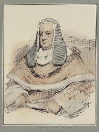 The Right Honourable Baron Alverstone, Lord Chief Justice of England