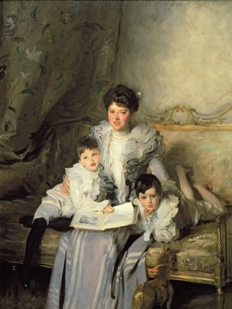 Mrs Knowles and Her Children, 1902