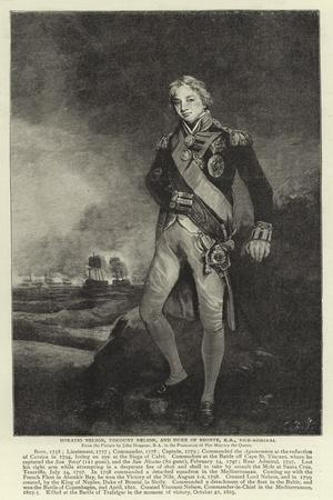 Horatio Nelson, Viscount Nelson, and Duke of Bronte, Kb, Vice-Admiral