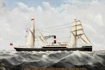 S.S. Cogent' of Sunderland, 1884-85