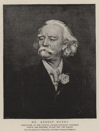 Mr August Manns