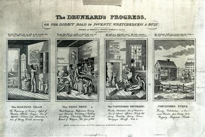 The Drunkard's Progress, 1826
