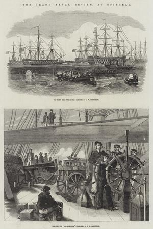 The Grand Naval Review, at Spithead