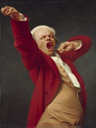 Self-Portrait, Yawning, 1783