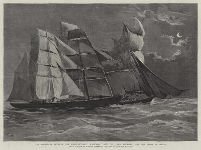 The Collision Between the Emigrant-Ship Kapunda and the Ada Melmore Off the Coast of Brazil