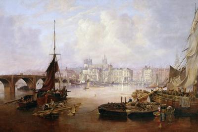 The Mayor's Barge on the Tyne, 1828