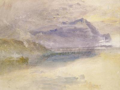 Evening: Cloud on Mount Rigi, Seen from Zug, C.1841