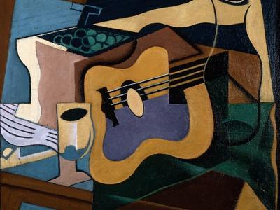 Still Life with Guitar, October-November 1920