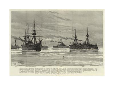 The Arrival of the French Fleet in English Waters