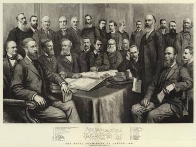 The Royal Commission on Labour, 1891