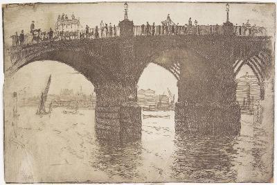 Under Vauxhall Bridge, 1893