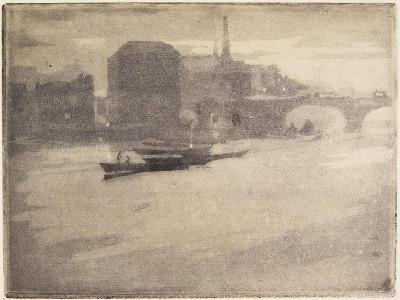 La Tamise (The Thames), 1894