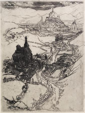 Le Puy, Third Plate, 1894