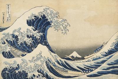 Under the Wave Off Kanagawa, 1831-34