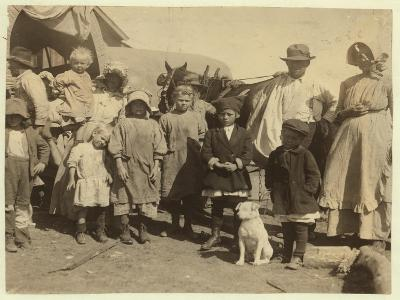 Itinerant Cotton Pickers Leaving a Farm Near Mckinney