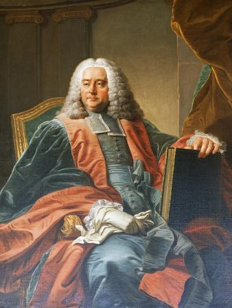 Portrait of Guillaume-Chretien De Lamoignon De Malesherbes (Paris, 1721-1794), French Lawyer and Po
