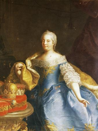 Portrait of Empress Maria Theresa of Austria (Vienna, 1717-1780)