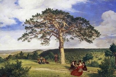 Big Pine in Bruhl Valley Near Moding, 1838