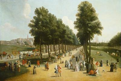 View of the Mall in St James's Park, 1709-10