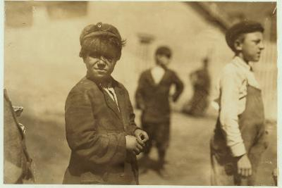 Joe (Jose) Mello, Aged 8 or 9 Works as a Mill Sweeper in New Bedford, Massachusetts, 1911