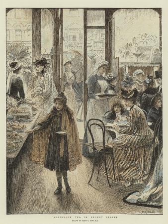 Afternoon Tea in Regent Street