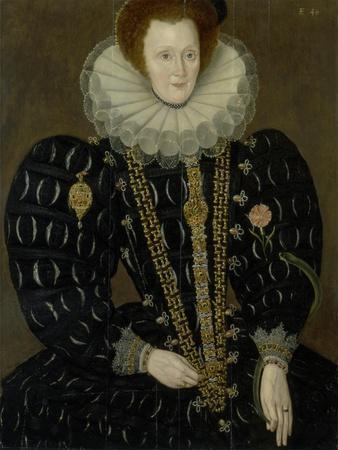 Portrait of Lady Elizabeth Knightley, 1591