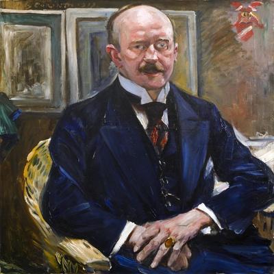 Portrait of Alexander Freiherr Von Reitzenstein, 1913