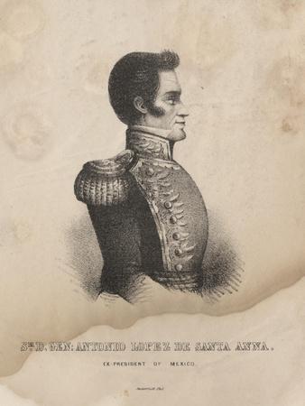 Sr. D. Gen. Antonio Lopez De Santa Anna