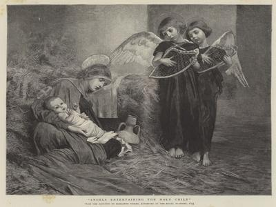 Angels Entertaining the Holy Child