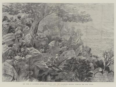 The Siege of Ladysmith, Battle of Caesar's Camp, the Manchester Regiment Repelling the Boer Attack