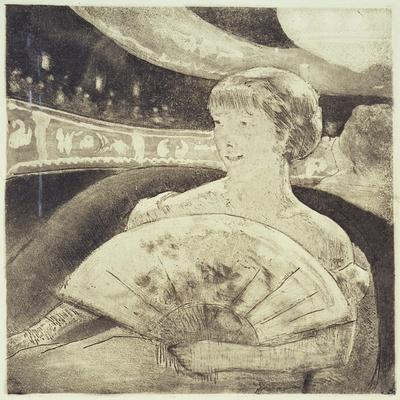 In the Opera (Aquatint Etching)