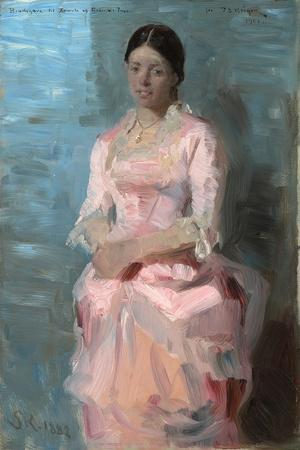 Portrait of Frederikke Tuxen, 1882