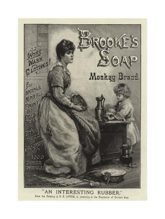 Advertisement, Brooke's Soap