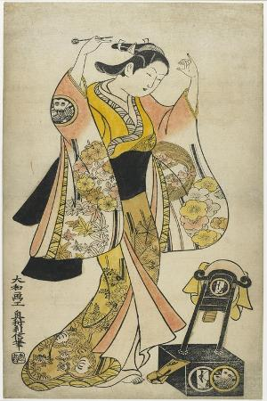 Sanjo Kantaro II as Yaoya Oshichi, 1718
