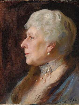 Portrait of Princess Henry of Battenberg (Princess Beatrice of Great Britain), 1926