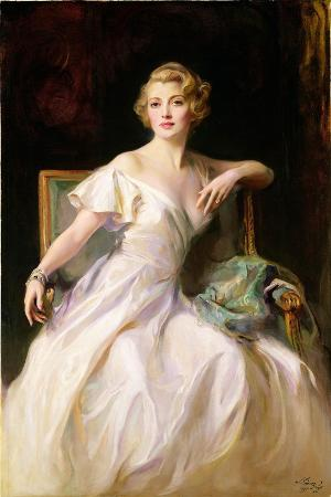 The White Dress - a Portrait of Joan Clarkson, 1935