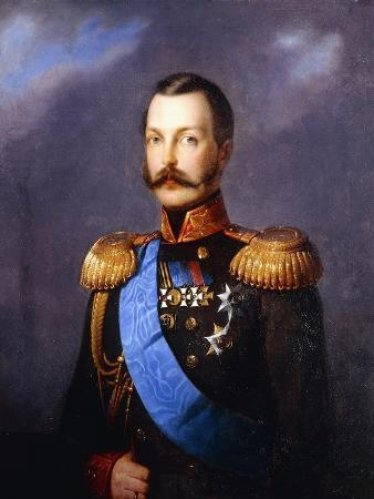 Portrait of Tsar Alexander II