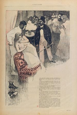 Illustration from 'Gil Blas', 1895