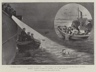Holbein's Attempt to Swim the Channel, 31 July and 1 August