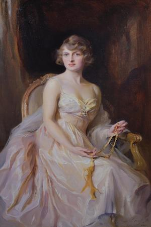 Vera Boscawen, Lady Broughton, 1922