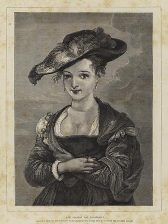 The Spanish Hat Portrait