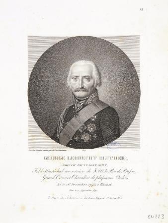Portrait of George Lebrecht Blucher, 1814