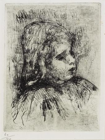 Portrait of Claude Renoir, 1908