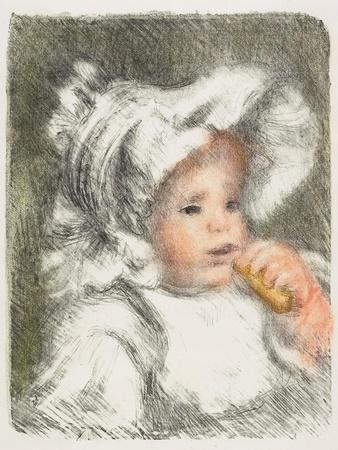 Child with a Biscuit, 1899